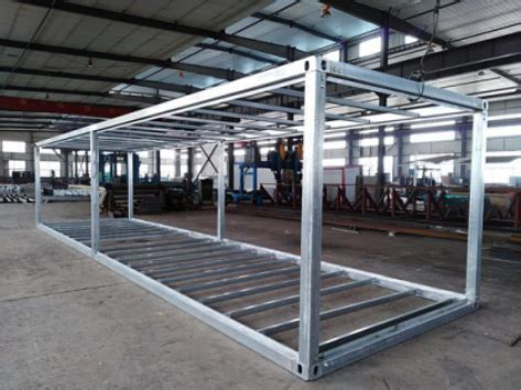orders  shipping container frames finished