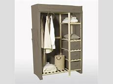 China Wooden Wardrobe with Cotton Canvas Cover China