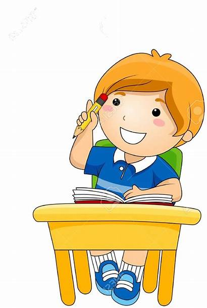 Thinking Clipart Child Library Clip Transparent Banner