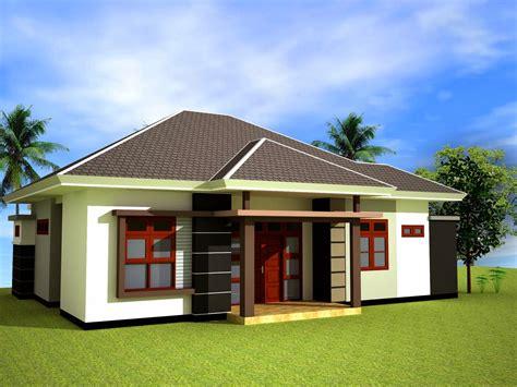 rumah minimalis pedesaan terbaik