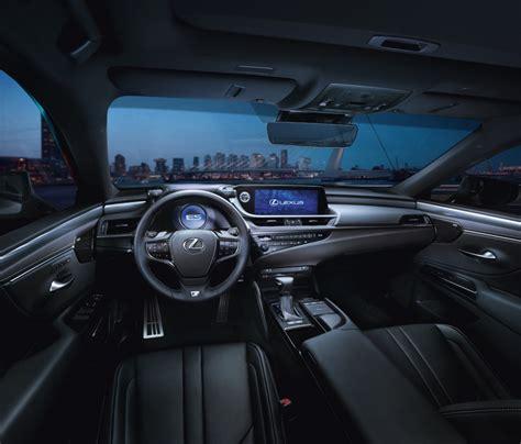 lexus es revealed features  mpg  hybrid sedan