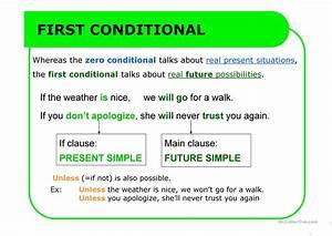 Conditional, Sentences, Pptx, Worksheet