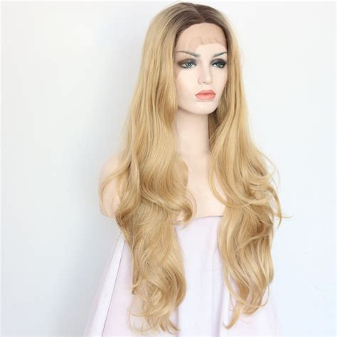 light brown wig boots light brown wavy lace front wig