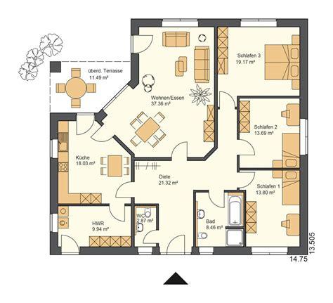 Grundrisse Für Bungalows by Bildergebnis F 252 R Grundriss Bungalow 4 Zimmer 150 Qm Haus