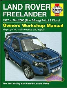 Freelander Shop Manual Service Repair Land Rover Haynes