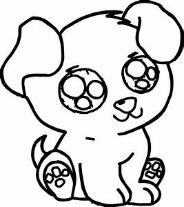 Cute Puppy Free Images Puppy Dog Coloring Page ...