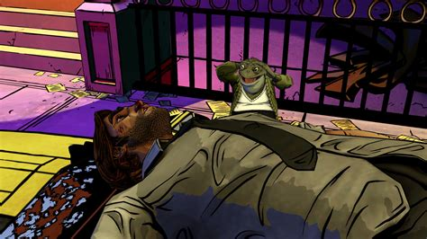 Hanging Chair Stand by The Wolf Among Us Episode 1 Review Neon Noir Pc