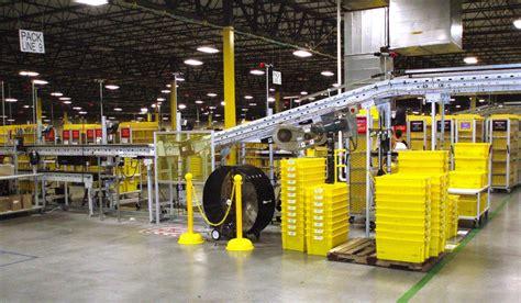 amazon warehouse inside morning call