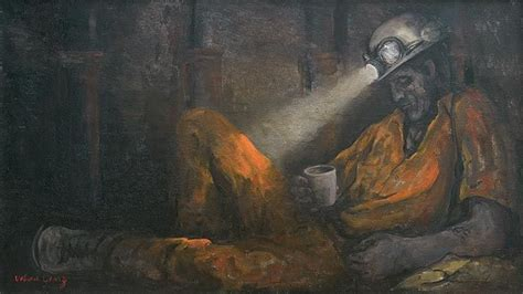 64 Best Images About Welsh Mining Art On Pinterest