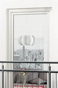 Fliegengitter fenster tur klettband franzosischer balkon for Französischer balkon mit polyester sonnenschirm färben