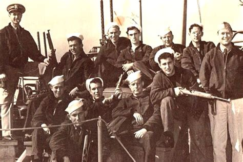 Pt Boat Crew by Wwii Veterans Aim To Relive History With Restored Pt Boat