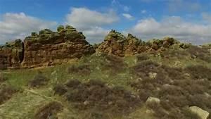 Drone View Of Devils Backbone  Loveland  Colorado