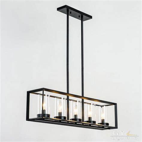 hauteur luminaire table cuisine post modern nordic rectangular restaurant dining room
