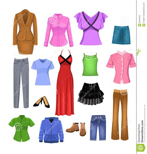 Clothing Clip With Clothes Clipart Clipart Suggest
