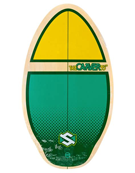tavole skimboard skimboard skim one the carver 35 acquista ora su