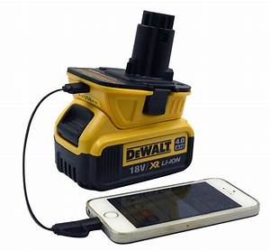 Dewalt Dca1820  Usb Converter  Replacement 12v 20v To 18v