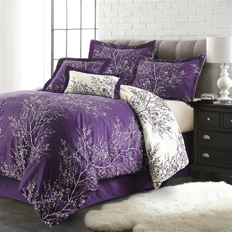 id馥 tapisserie chambre adulte 1001 idées pour la décoration d 39 une chambre gris et violet