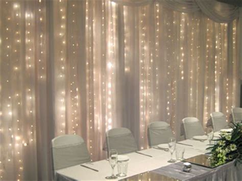 twinkle light curtains shear pipe drape and wedding rentals for denton