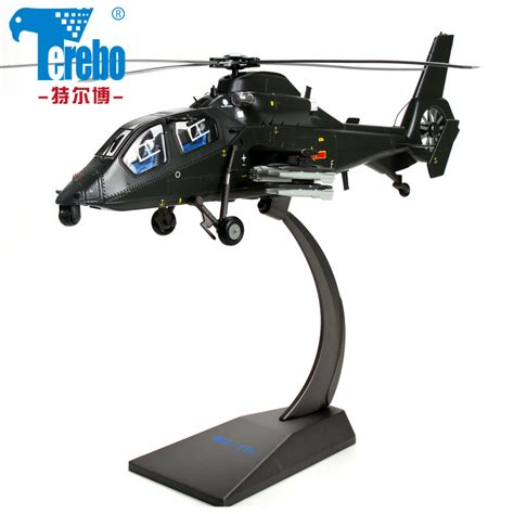 30 Chinese Z19 Alloy Helicopter Model Black Tornado