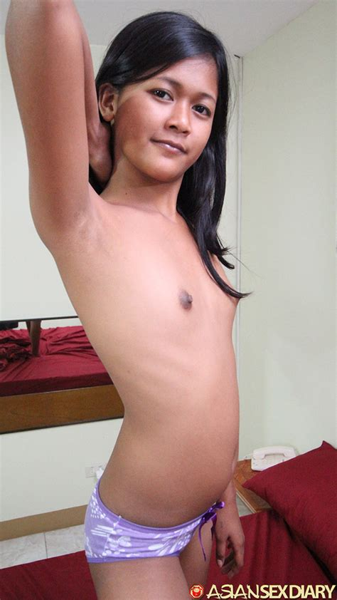 Maymay Is 18 Year Filipina Girl With Tiny Little Tits