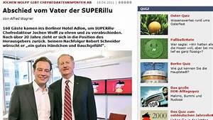 Super Illu Verlag : superillu robert schneider jetzt chefredakteur jochen ~ Lizthompson.info Haus und Dekorationen