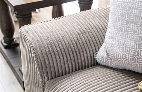 marjorie sofa sm  gray wide wale corduroy woptions