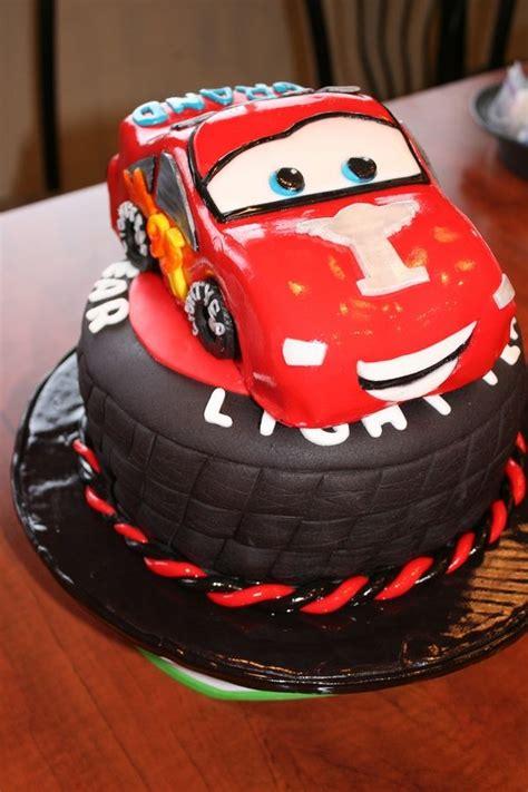 Get Tesla Car Birthday Cake Background