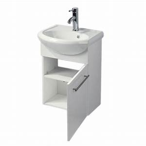 Lave Main Angle : lave main primus blanc brillant achat vente meuble ~ Melissatoandfro.com Idées de Décoration