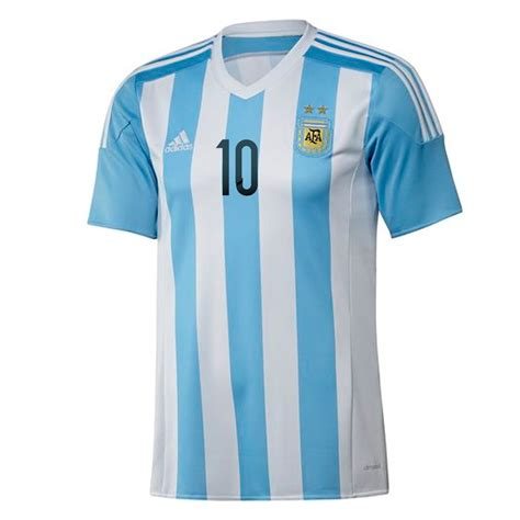 soccer jersey 85 49 adidas youth argentina messi 10 home 2015 replica soccer jersey white zenith
