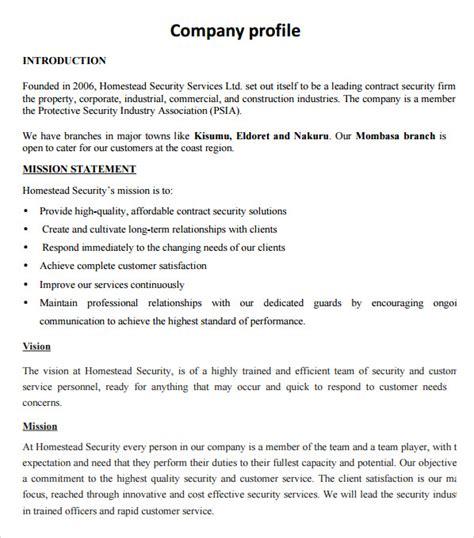sle company profile sle 7 free documents in pdf word