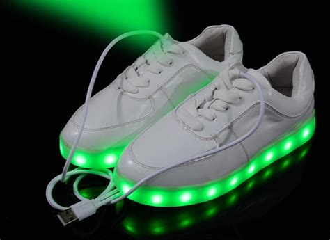 led light up shoes in stores aliexpress com buy 7 colors led shoes luminous led shoes