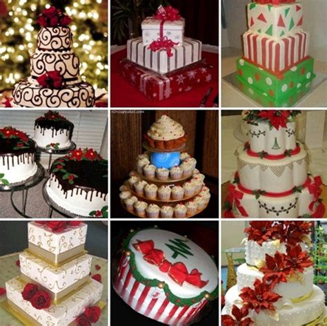 different of cakes to make christmas wedding cakes pictures weddings made easy site