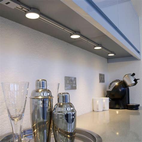 undercounter kitchen lighting click slideline led track system wth ir sensor 3021