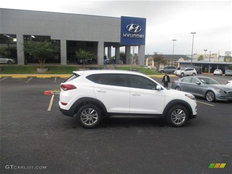 hyundai tucson 2016 white 2016 winter white hyundai tucson se 106539082 photo 8