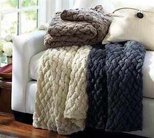 6 tips for cozy winter decor arlington magazine With chunky knit blanket pottery barn