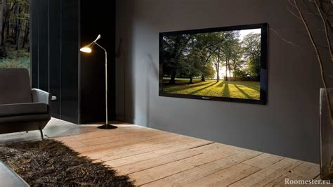 Телевизор в интерьере, способы размещения + фото дизайна Tiles For Kitchen Floors Best Deals On Appliances Packages Diy Island Table Tefal Wholesale Small Track Lighting Tables With Storage Homebase
