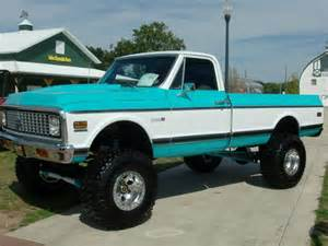 Classic Chevy 4x4 Pickup Trucks