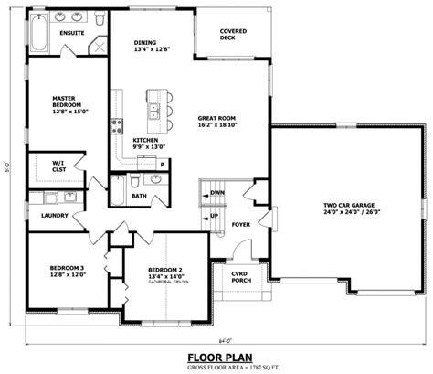 customized floor plans raised bungalow house plans canada stock custom house