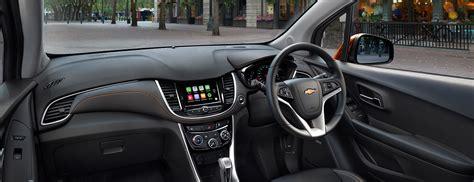 chevy trax interior spesifikasi dan harga chevrolet trax 2017 detailmobil