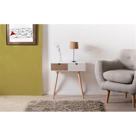 meuble bout de canapé bout de canapé 2 tiroirs meubles macabane meubles et