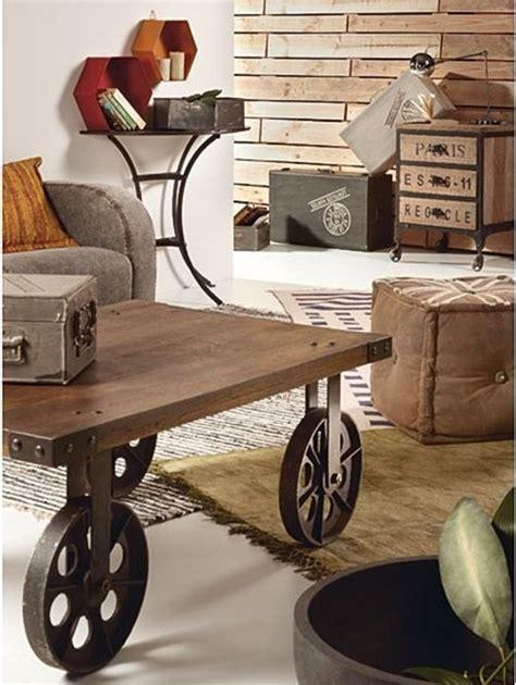 mesas vintage  ruedas de carro decomanitas