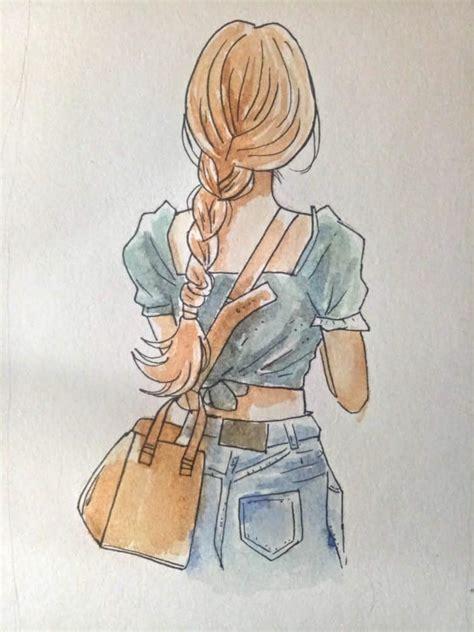 Was packt denis in seine reisetasche? Mädchen zeichnen lernen - Einfache Anleitung + Video