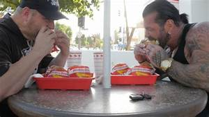 In N Out - Double Double Eating Contest - Rich Piana Vs Big J