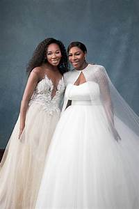 sister love from serena williams and alexis ohanian39s With serena williams wedding dress