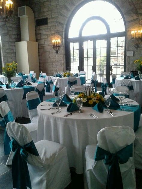 yellow and teal wedding reception centerpieces my wedding designs teal wedding centerpieces