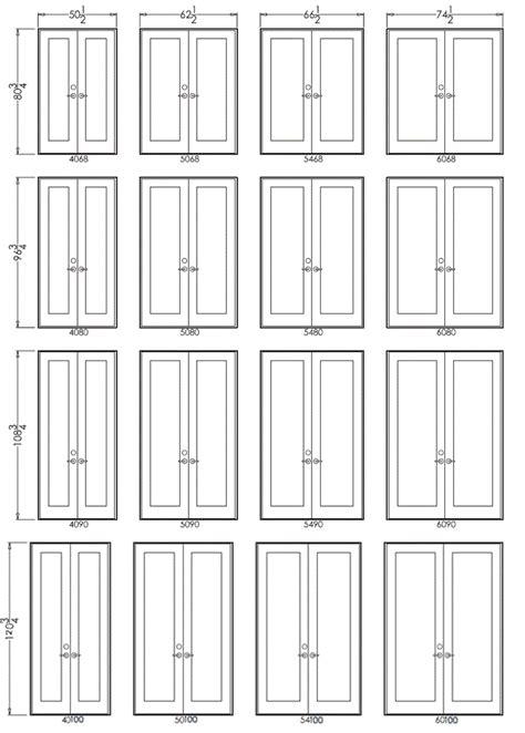 Bedroom Doors Sizes by Pretty Standard Door Size On Pair Of Doors In Swing