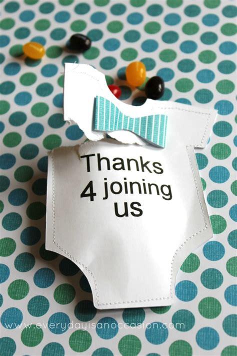 baby boy shower themes decorations diy baby shower favor
