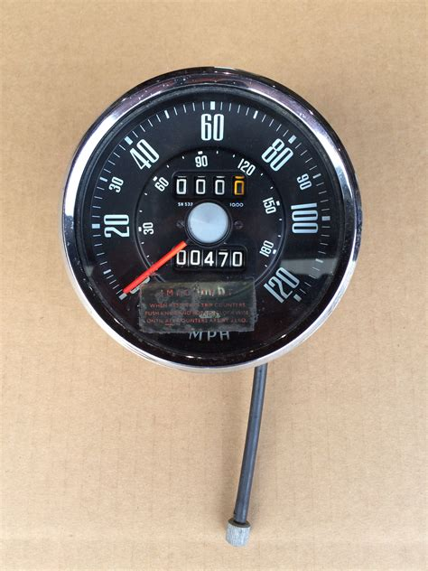 Speedometer R25 By Tiger Part sunbeam alpine speedometer 171 sunbeamtigerparts