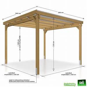Grill überdachung Holz : unterstand 3x3 m berdachung f r gartenger te gartenm bel kaminholz grill ebay garten ~ Buech-reservation.com Haus und Dekorationen