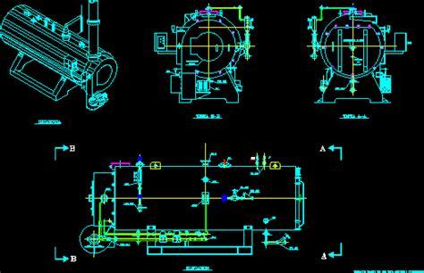 continental boiler dwg detail  autocad designs cad